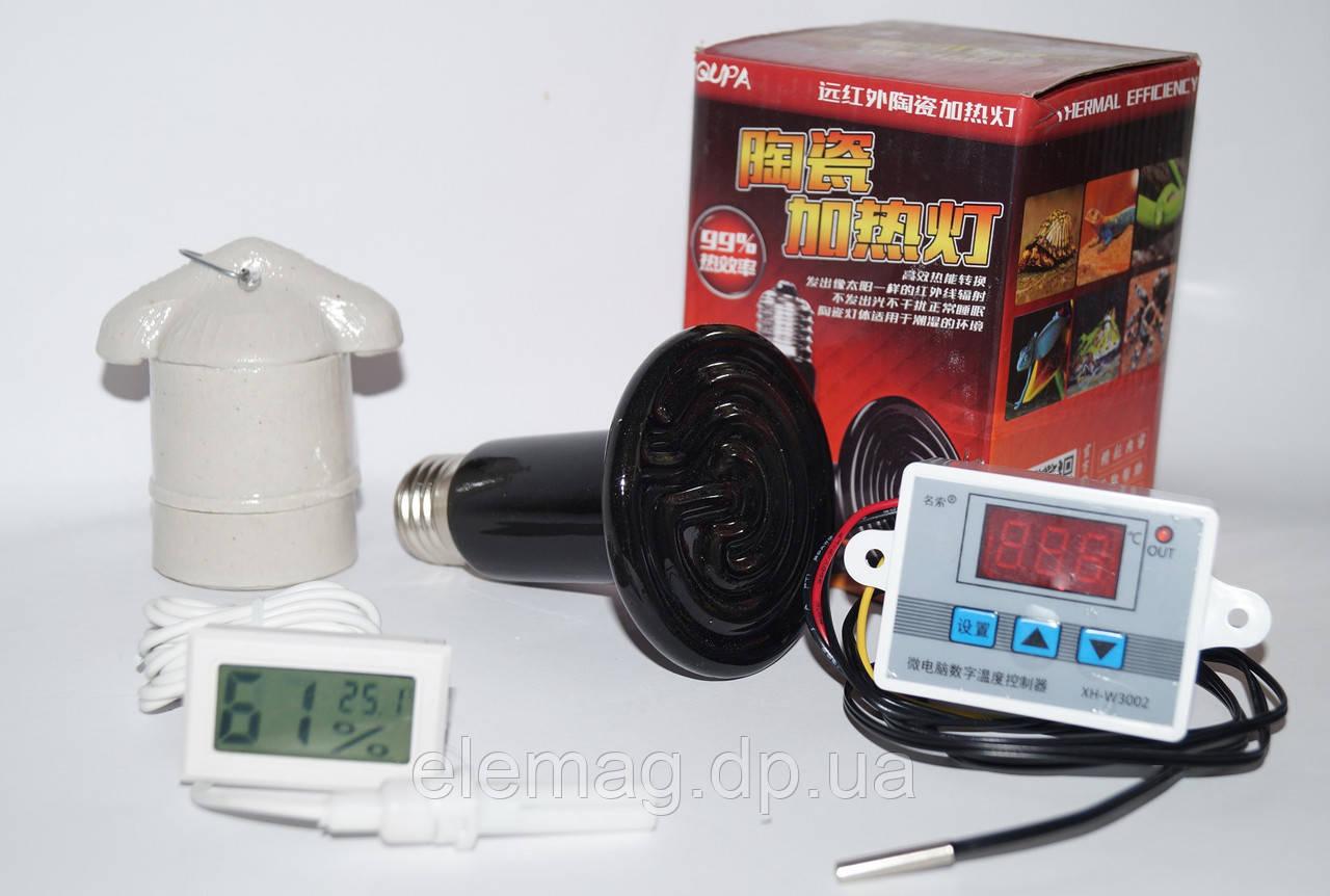 Лампа для брудера с терморегулятором W3002 на 220V