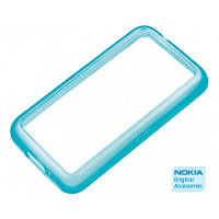 Чехол для Nokia Lumia 620 - Nokia CC-1056 light cyan