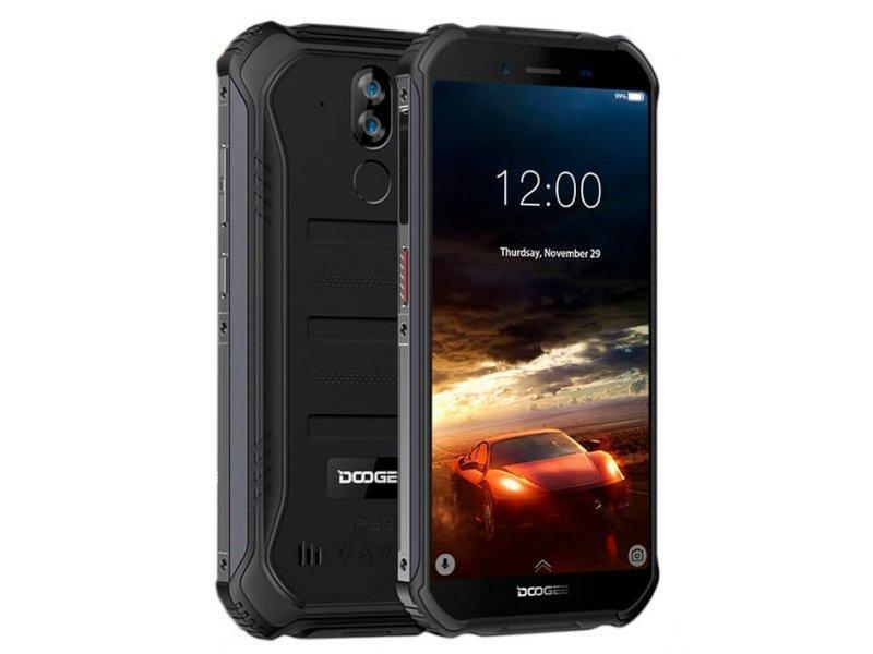 Защищенный DOOGEE S40 black 32GB