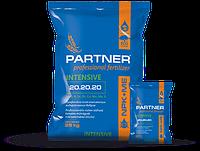 Комплексное удобрение Partner INTENSIVE NPK 20.20.20+3ME, 25 кг