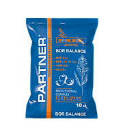 Удобрение Partner BOR BALANCE NPK 14.10.12 + B 7,5 + SO₃ 10 + AMK 0,6 10кг