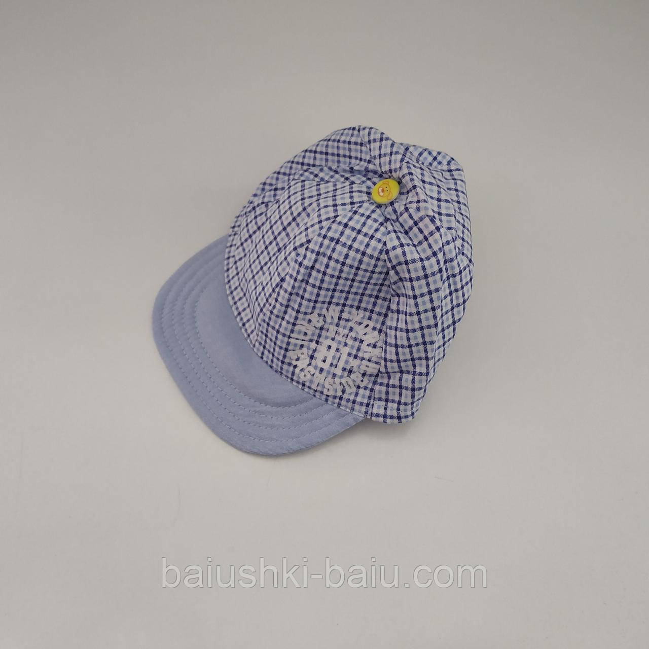 Детская летняя кепка для мальчика, р. 46-48 ТМ Babasik