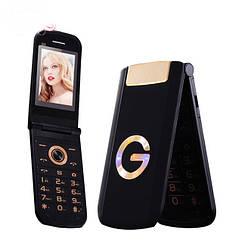 Мобильный телефон Tkexun G3 Flip Black 1200 мАч