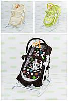 Детский шезлонг-люлька качалка BT-BB-0003