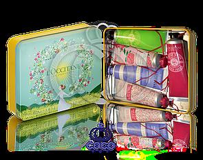Подарунковий набір кремів для рук l'occitane (зелений)