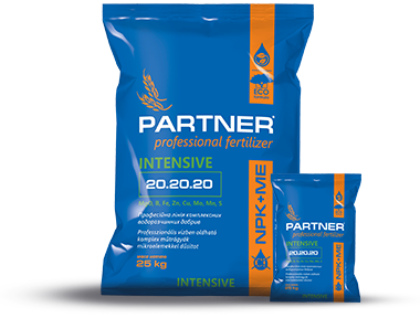 Комплексное удобрение Partner INTENSIVE NPK 35.10.10+3ME, 25 кг