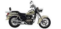 Мотоцикл (Чопер) LF125-14F (Серебристый,Черный,Бежевый VIP) 125куб.см