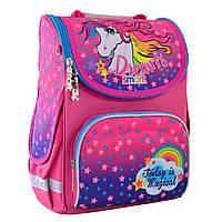 """Рюкзак шкільний,каркасний ортопедичний PG-11 """"Unicorn"""" , SMART"""