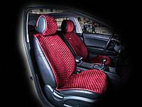 Накидки универсальные CarFashion Premium CITY на переднее сидения авто, цвета в ассортименте.