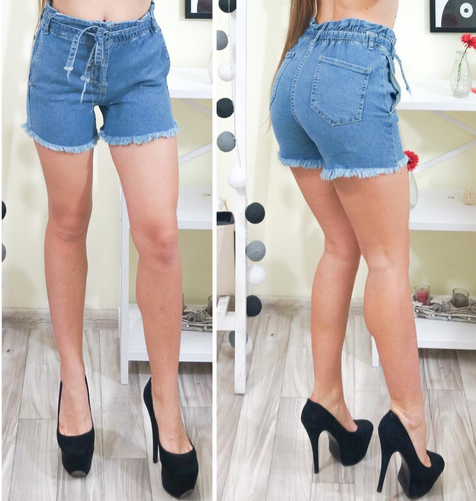 b647950f830d Новинка 2019!Модные, женские, джинсовые шорты с бахромой по низу: продажа,  цена в ...