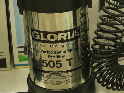 Бак из нержавеющей стали опрыскивателя GLORIA 505 Т