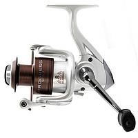 Катушка безинерционная для удилища Lucky John PROGRESS SPIN 8 2500FD / Катушка для рыбалки серебристого цвета