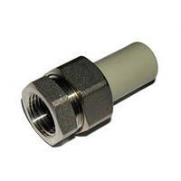 Сгон металлопластиковый диаметр 26 х 3/4 внешняя резьба