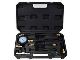 Тестер манометр для измерения давления топлива универсальный для бензиновых двигателей GEKO G02501