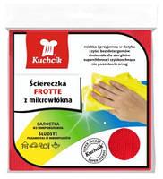 Салфетка для уборки, Микрофибра FROTTE, 30 x 30 см, 1 шт  KUCHCIK