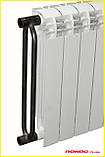 Биметаллический радиатор двухтрубный Tianrun RONDO PLUS 500/110, фото 2