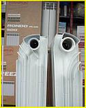 Биметаллический радиатор двухтрубный Tianrun RONDO PLUS 500/110, фото 4