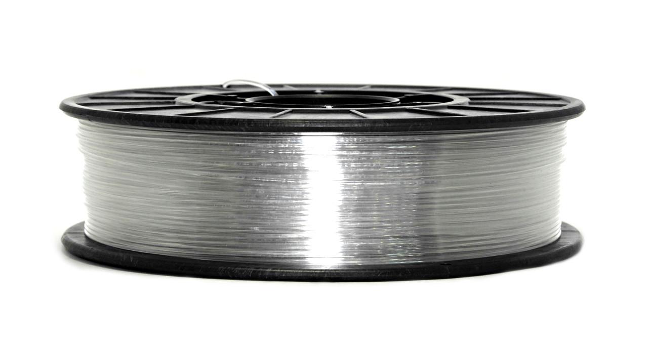 Нитка PETG (CoPET, ПЕТГ) пластик для 3D друку, Clear (1.75 мм/0.75 кг)
