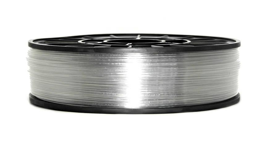 Нить PETG (CoPET, ПЕТГ) пластик для 3D печати, Clear (1.75 мм/1 кг), фото 2