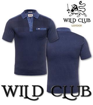 Поло мужское купить Wild Club 1283090
