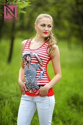 Женская футболка №19-31