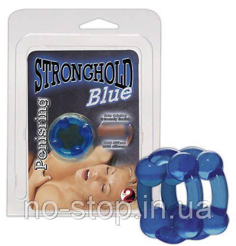 Еркекционное кольцо Stronghold Blue