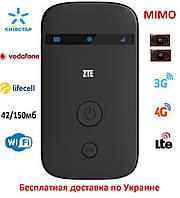 Мобильный модем 3G 4G WiFi Роутер ZTE MF90 Киевстар, Vodafone, Lifecell с 2 выходами под антенну MIMO