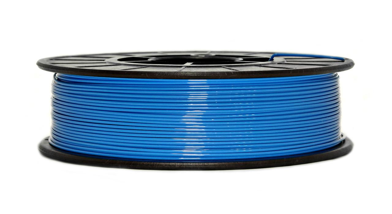 Нить PETG (CoPET, ПЕТГ) пластик для 3D печати, Светло-синий (1.75 мм/0.75 кг)