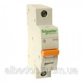 Автоматический выключатель Schneider ВА63 1П 10A C