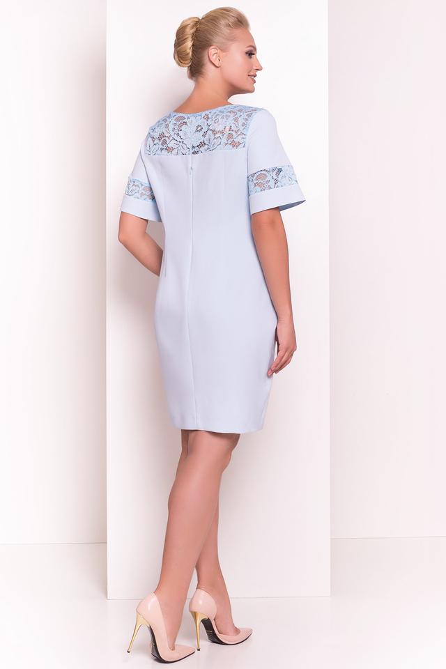 Фото-1 Нарядного коктейльного батального платья Инна