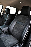 Чехлы Leather Style для Audi (Ауди) Q-3 2011- г. MW Brathers.