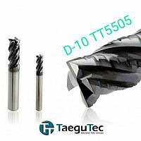 Фреза концевая D10   HSF 4100 150 250 TT5505 Taegutec твердосплавная пальчиковая