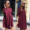 Платье с карманами, ткань:  тиар + дорогая фурнитура. Размер: С (42-44) и М (44-46). Разные цвета.(6428), фото 7