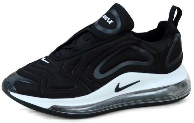 """Мужские кроссовки в стилеNike Air Max 720""""Black/White"""" ( в стиле Найк )"""