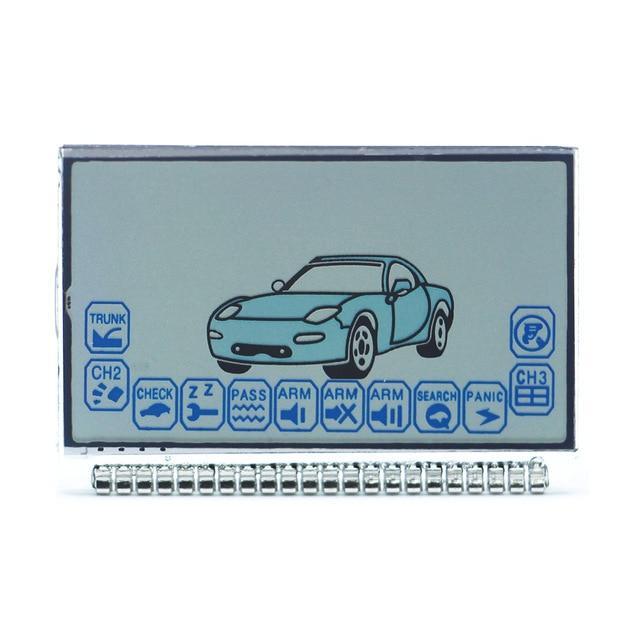 Дисплей жк LCD экран Starline Старлайн A6 на ножках