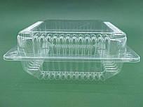 Упаковка для торта прозрачная ПС-55 (V=3300мл 240*250*85) (50 шт/пач)