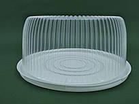 Упаковка для торта прозрачная ПС-241 (V3000мл) Ø260*85 (50 шт/пач)