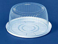 Упаковка для торта прозрачная ПС-22 (V2100мл) Ø205*95 (50 шт/пач)