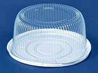 Упаковка для торта прозрачная ПС-25 (V5300мл) Ø280*122 (50 шт/пач)