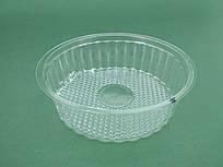 Одноразовая упаковка для продуктов, контейнер круглый SL805  (V350мл d=133 h40), 50шт\пач