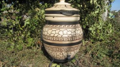 """Тандыр модель №1 """" Греческий""""45 литров"""