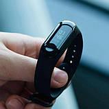 Фитнес браслет M3 в стиле Xiaomi Mi Band 3 (Smart Band) Black Умный браслет Фитнес трекер, фото 4