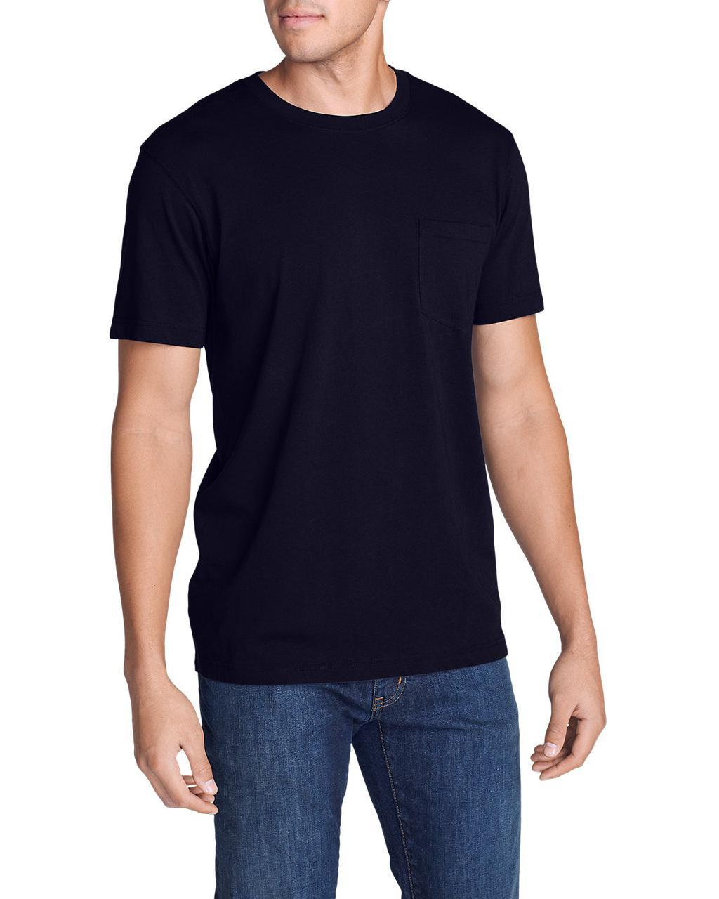 Футболка Eddie Bauer Legend Wash Short-Sleeve Pocket T-Shirt - Classic Fit L