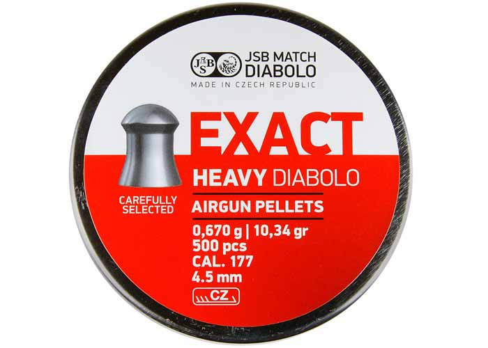 Пули для пневматического оружия JSB Exact Diabolo 0,67г. (500шт.)