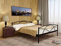 Кровать металлическая с изножьем ПАЛЕРМО-2 (PALERMO-2)  ТМ Метакам