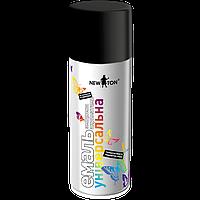 NewTon краска аэрозоль 9005 400гр (черная глянцевая)