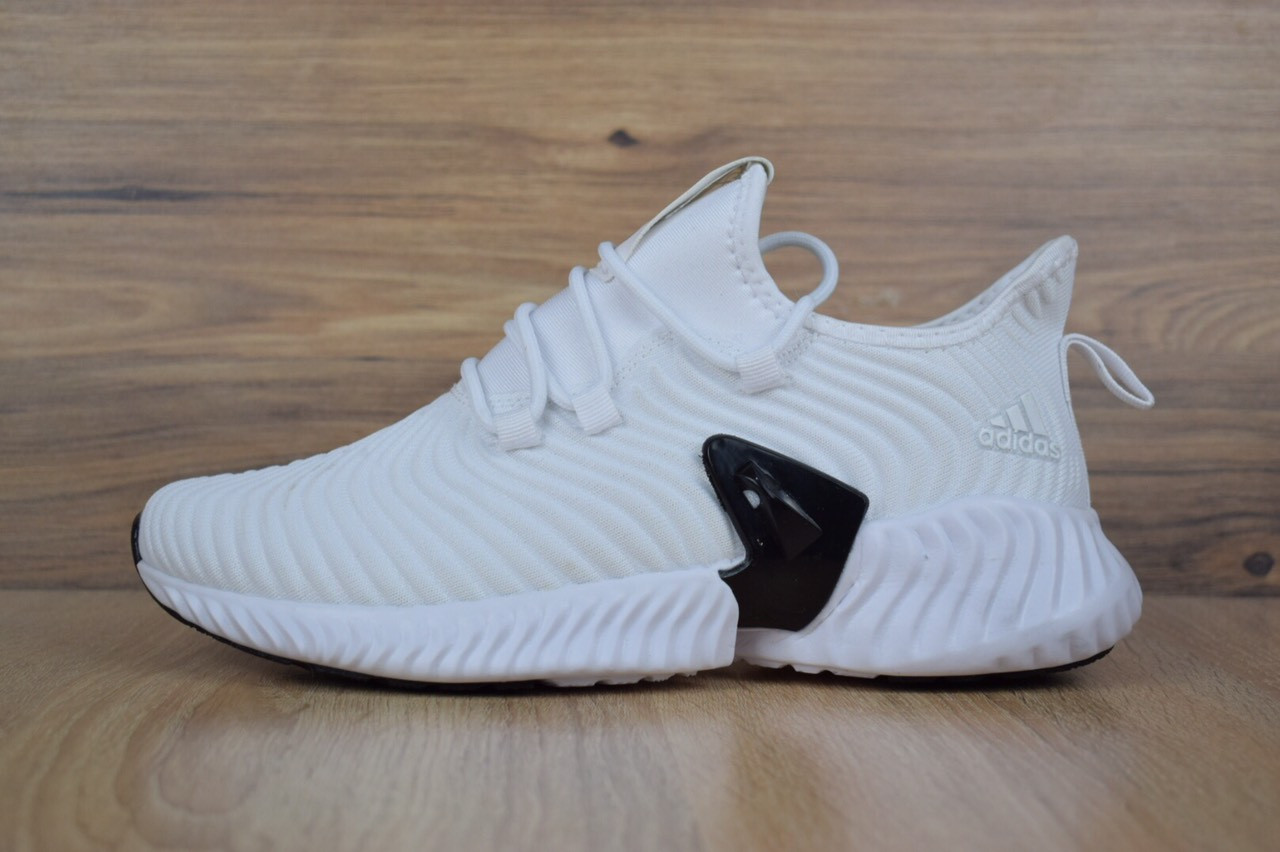 d7c04d2147ba41 Мужские кроссовки Adidas AlphaBounce Instinct CC White/Grey - Интернет- магазин обуви Parus Shop