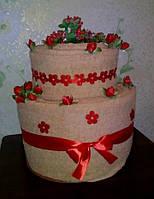 Торт из полотенец - оригинальный практичный подарок, фото 1