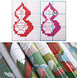 Набор для вышивки крестом с печатью на ткани NKF Корзина с цветами H798 14ст, фото 2