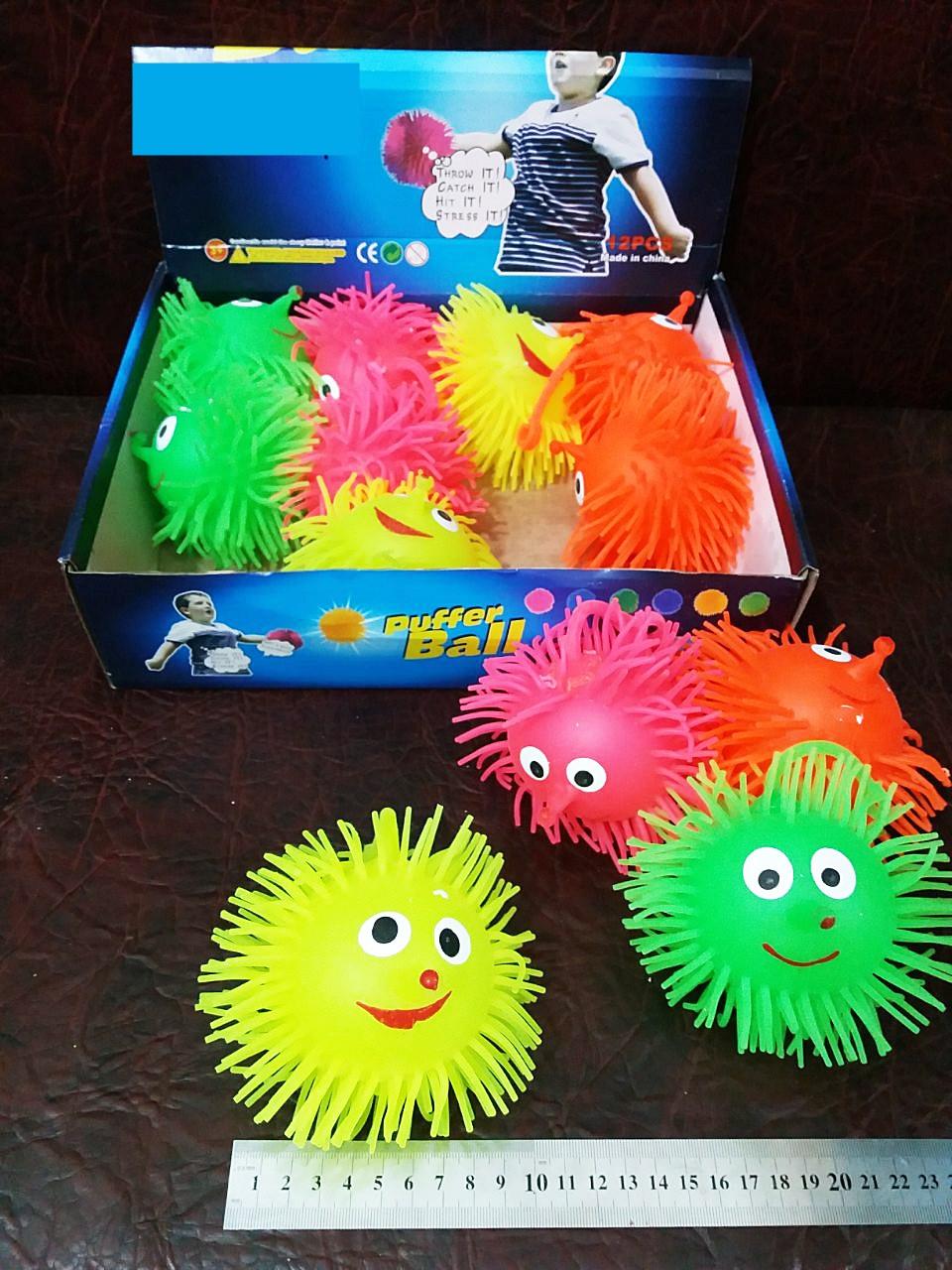 Резиновая игрушка-антистресс ежик